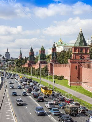Moscow, Russia. View of the Kremlin