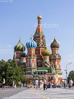 Moscow, Russia. St. Basil\'s Cathedral