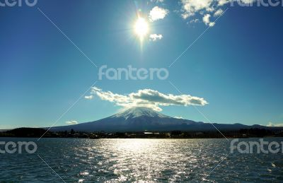 Fuji at Lunch Time