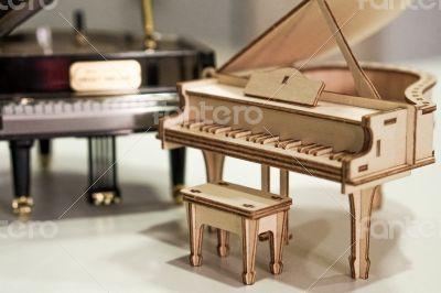 Wooden Piano Model