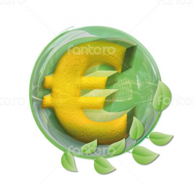 Euro in a ball
