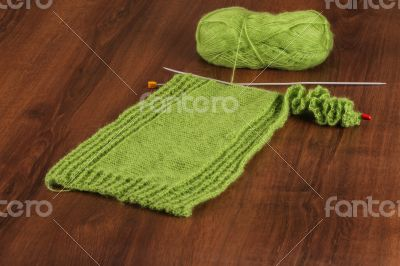 Woolen Green on the Wood