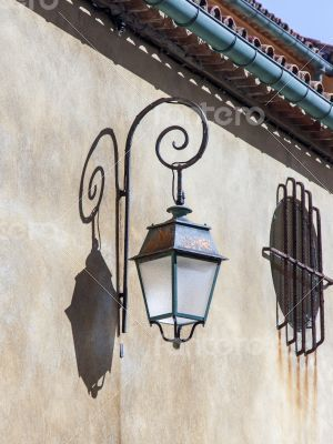 Antiba, France. Typical architectural details