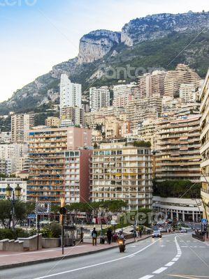 Monaco,  residential areas