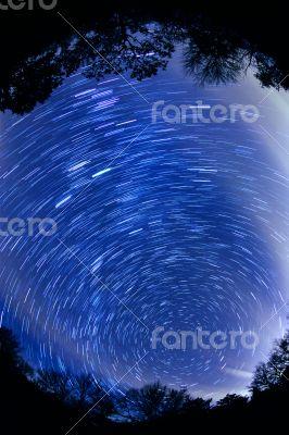 Milkyway Star Trails