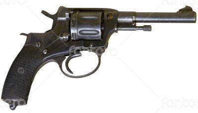 rusty obsolete vintage firearm revolver