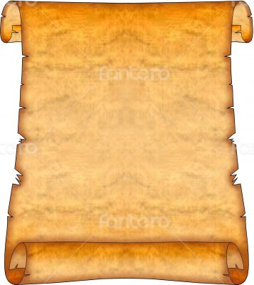 Scroll with curved corners