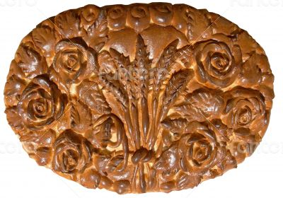 Isolated Ukrainian festive bakery Holiday Bread