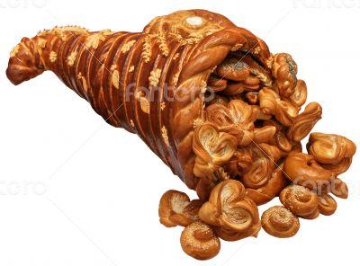 festive Bread Horn of Plenty