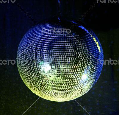 night club lighting mirror-ball