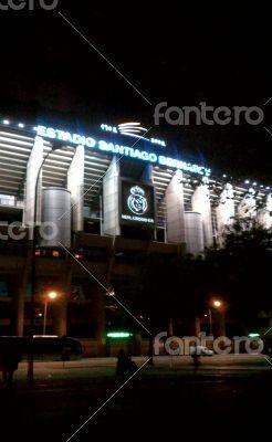 Santiago Barnabeu Stadium. Madrid. Spain