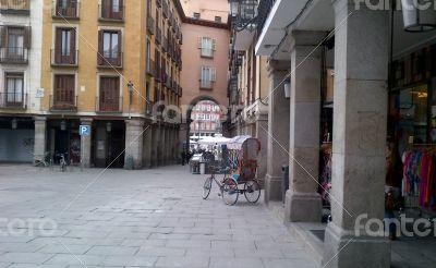 Plaza Mayor. Madrid. Spain