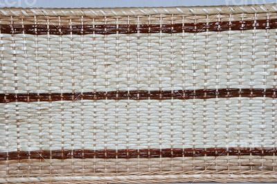 handmade wicker fabric wove