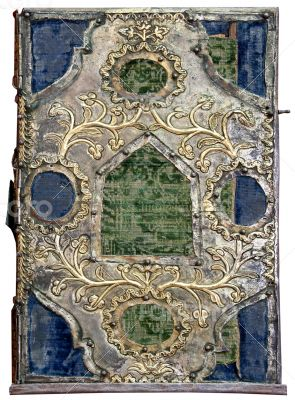 golden cover of Orthodox Gospel or Bible