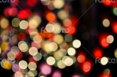Abstract blur lights