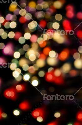 Abstract blur lights
