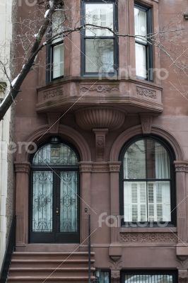 Lime stone building in the UES