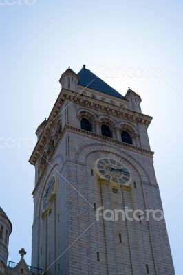 Nancy Hanks Center clock tower