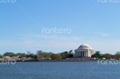 Thomas Jefferson Memorial by the water