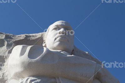 MLK`s face