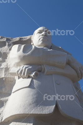 Martin Luther King from below