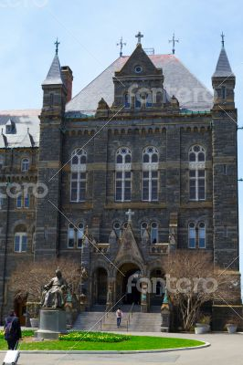 Entrance to Georgetown University