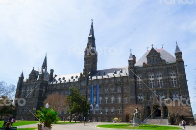 Georgetown University main building
