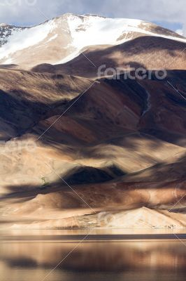 Tso Moriri Himalayan high altitude lake