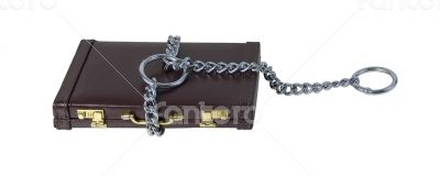 Large Choke Chain on a Briefcase