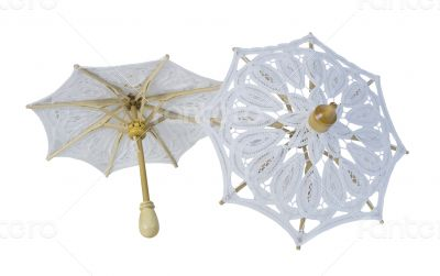 Lace Umbrellas with Sturdy Handle