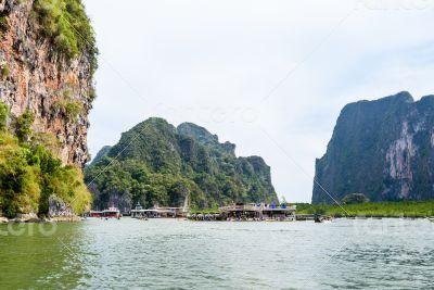 Tham Lod cave Phang Nga bay