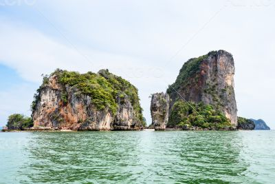 Landscape KhaoTapu or James Bond Island