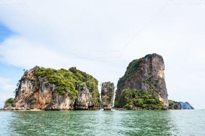 Landscape KhaoTapu or James Bond Island
