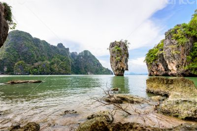 Landscape Khao Tapu or James Bond Island