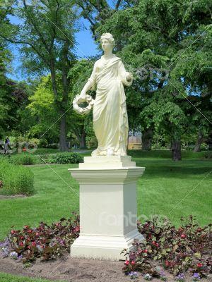 Flora Statue