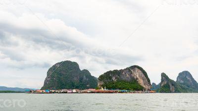 Koh Panyee or Punyi island, Thailand