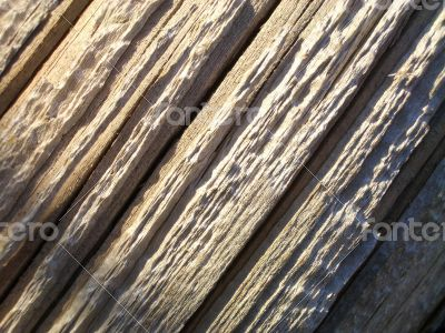 Close Up of Weather Wood Texture