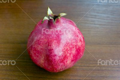 One pomegranate