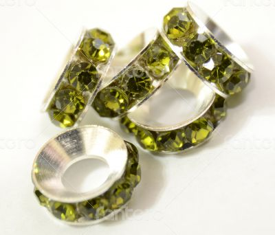 Light Green Beads Spacer