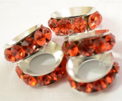 Orange Beads Spacer