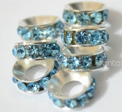 Blue Beads Spacer