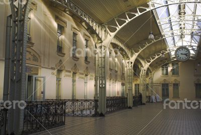 Railroad Station`s hall