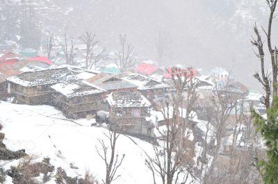 Malana Village from Top
