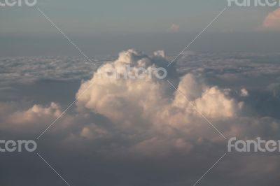 Cloud View from Airplane... AMAZING Nature