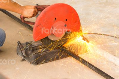 Smith was cutting sparks flying.