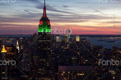 Empire State Night View