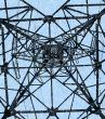 High-voltage mast