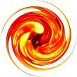 glass spiral circular