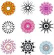 symmetrical patterns