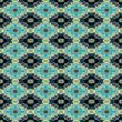 Geometric medallion wallpaper background